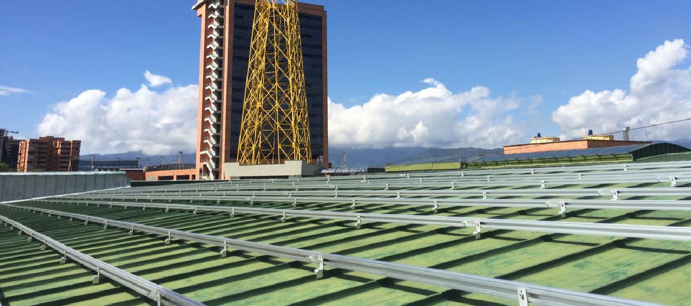 Sistema de Energía Solar El Tesoro