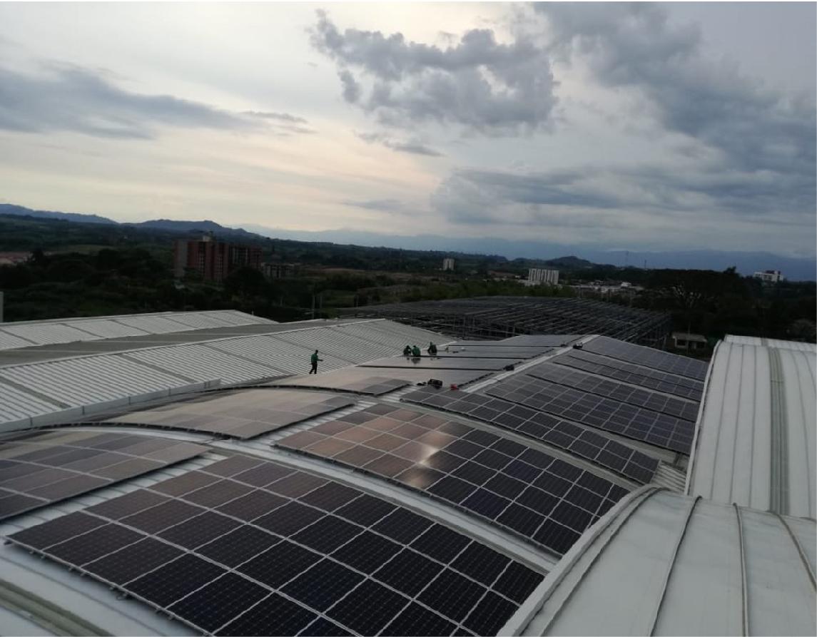 Sistema de Energía Solar de 199,8 kWp en Cartama