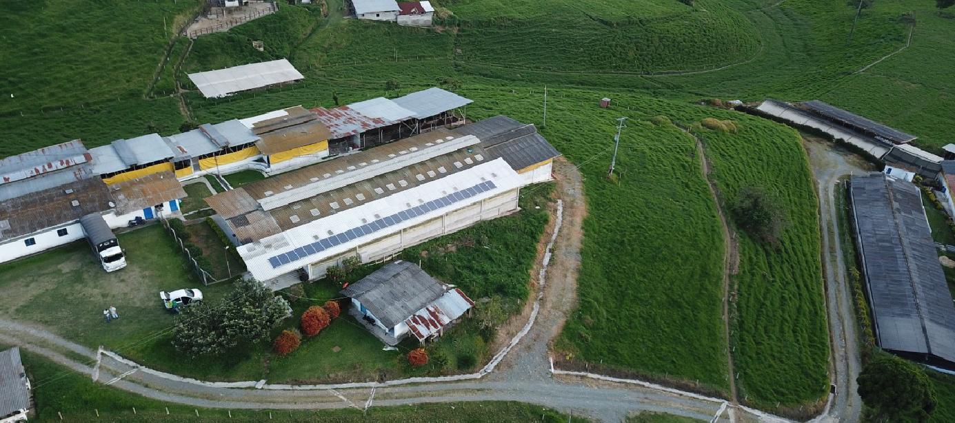 Sistema de Energía Solar en Hacienda Mandalay