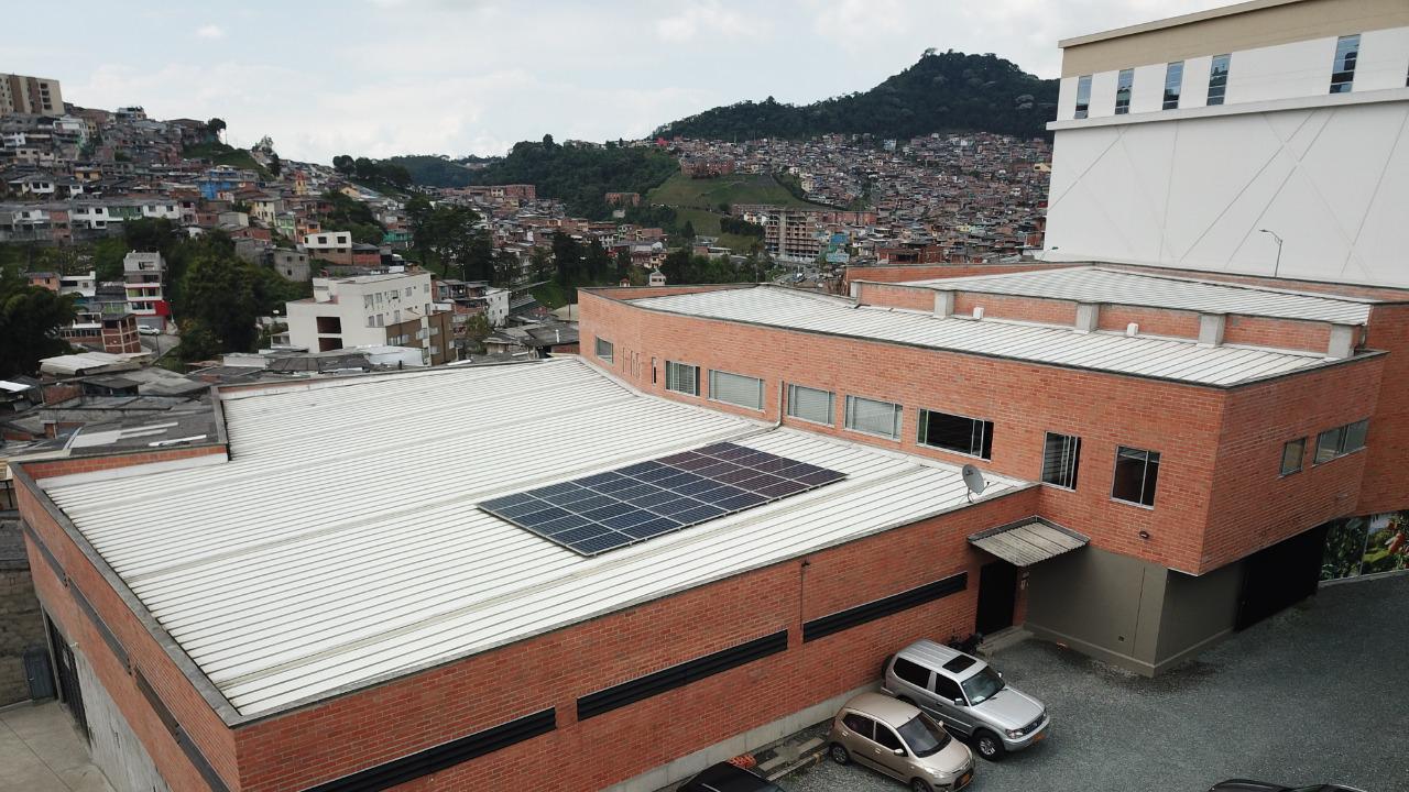 Sistema de Energía Solar enConcentrados del Centro