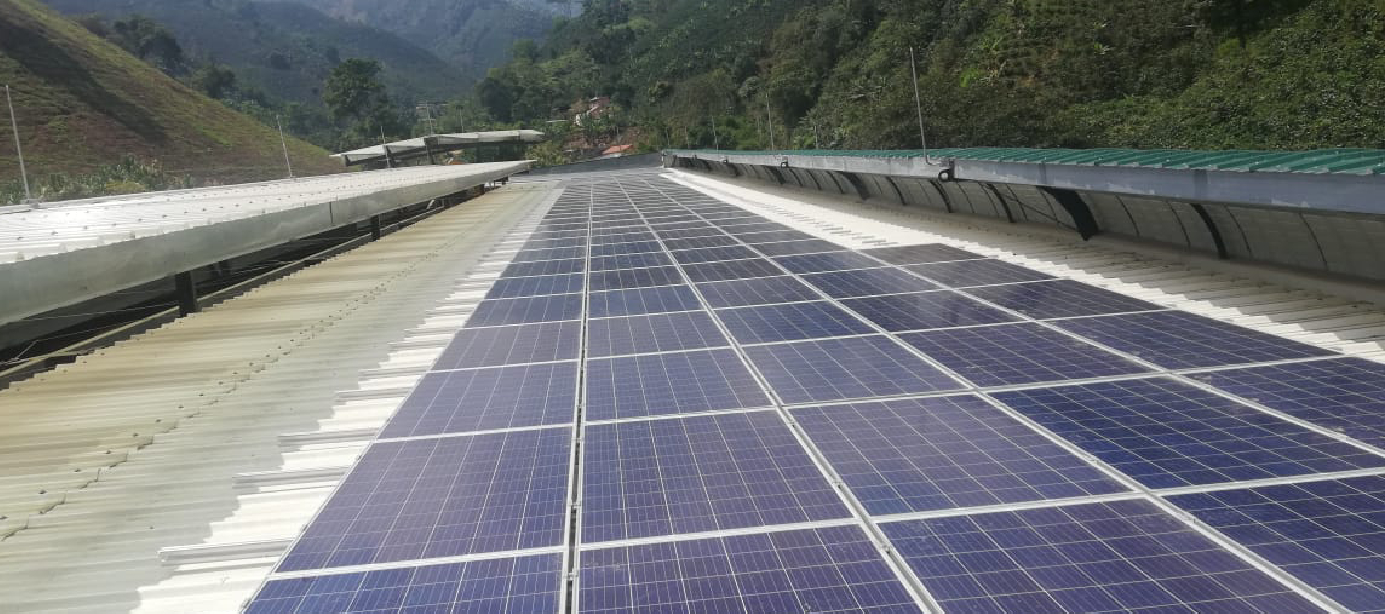 Sistema de Energía Solar enDelos Andes Cooperativa2