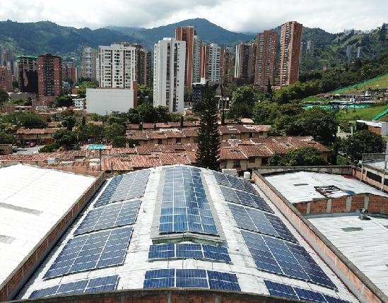 Sistema de Energía Solar papelcard