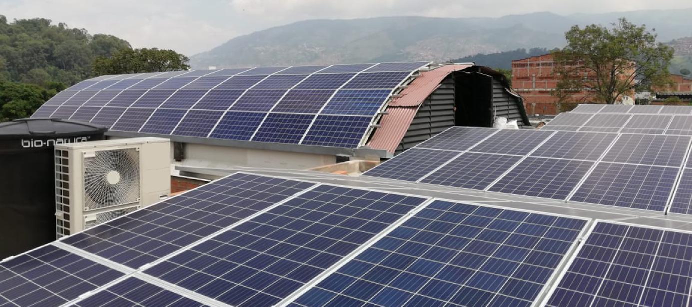 Sistema de Energía Solaren Tercol 45.36kWP